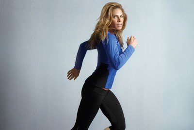 Jillian Michaels in her activewear collection, IMPACT by Jillian Michaels, available exclusively at Kmart
