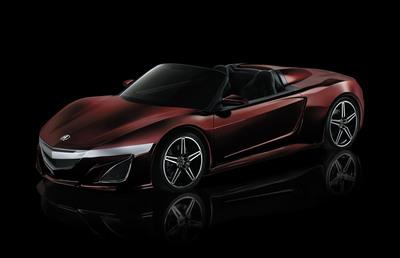 "Acura ""Avengers"" sports car.  (PRNewsFoto/Acura)"