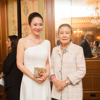 Mrs. Globe Hua Gong with First Lady of the United Nations Madam Ban Soon-Taek
