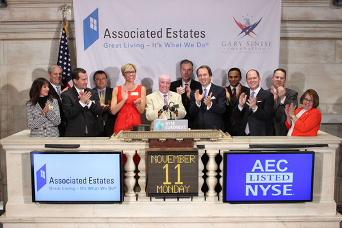 Associated Estates and the Gary Sinise Foundation (GSF) celebrated their partnership in supporting and bringing  ...