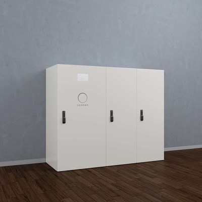 The sonnenBatterie pro, intelligent energy management solution for businesses.