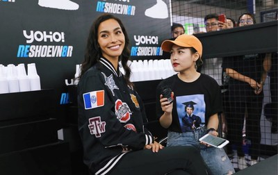 2016 YO'HOOD Global Trendy New Products Carnival, Adrianne Ho interview with YOHO!BUY