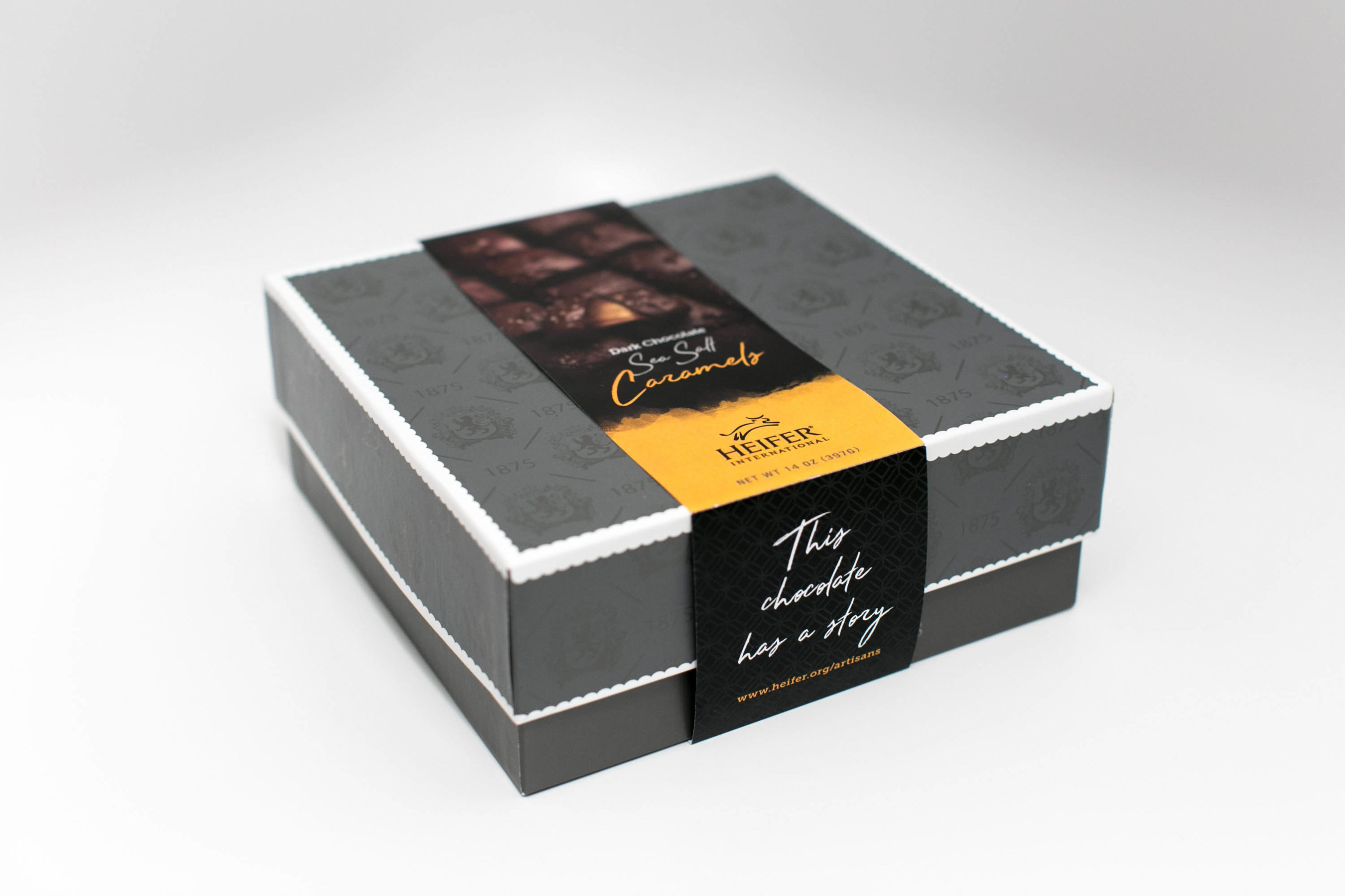 Savor the taste of sea salt caramels while supporting farmers around the world.
