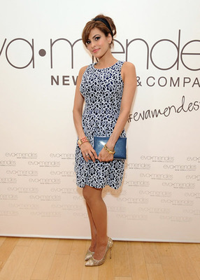 Eva Mendes Exclusively at New York & Company Spring Launch 2014