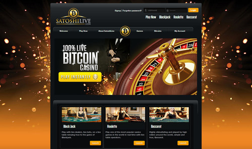 Satoshi Live Launches the World's First Fully-Live Bitcoin Casino, Live Streaming Casino Platform That Offers a Unique Online Gaming Experience. (PRNewsFoto/Satoshi Group) (PRNewsFoto/SATOSHI GROUP)
