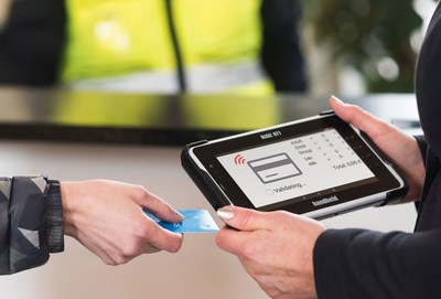 Handheld Adds eTicketing Capabilities to its ALGIZ RT7 Android Rugged Tablet (PRNewsFoto/Handheld Group)