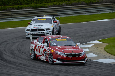 Kia Racing scores back-to-back podium finishes in rounds five and six of Pirelli World Challenge at Barber Motorsports Park