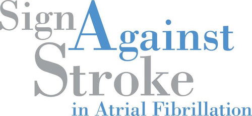 700,000 People Worldwide Rally behind Sign Against Stroke Task Force to Call AF Care and Stroke Prevention to be Prioritised on National Health Agendas (PRNewsFoto/Sign Against Stroke) (PRNewsFoto/Sign Against Stroke)