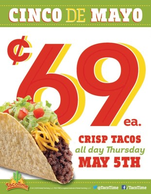 Celebrate Cinco de Mayo with TacoTime!