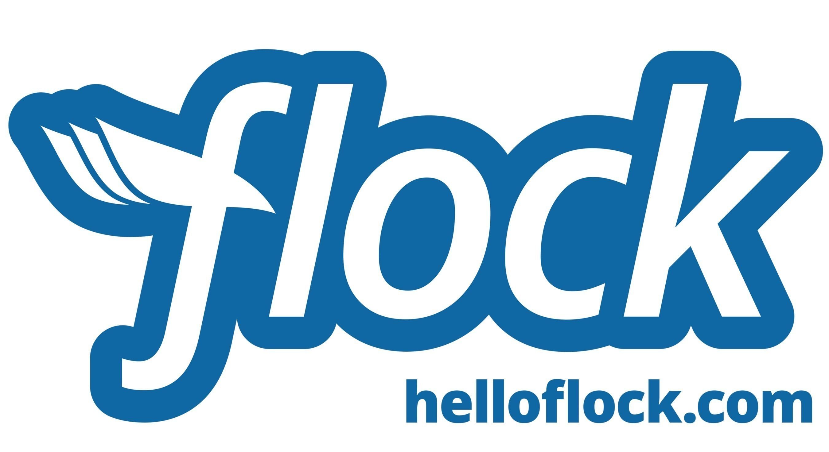Flock logo (PRNewsFoto/FLOCK)
