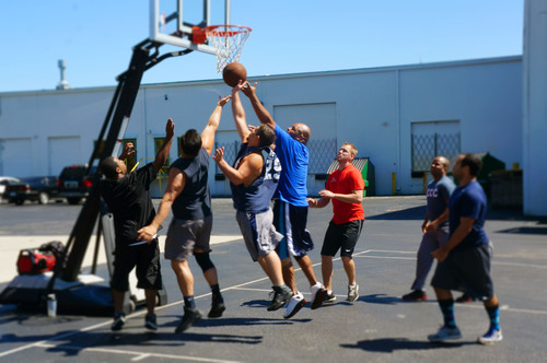 Basketball.  (PRNewsFoto/Modern Enterprise Solutions)