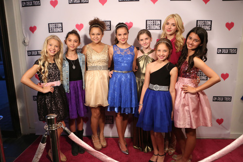 Young Hollywood raises money for Boston Marathon victims at girls fashion retailer Un Deux Trois in Beverly ...