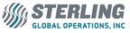 Logo for Sterling Global Operations.  (PRNewsFoto/Sterling Global Operations)