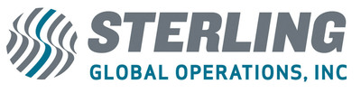 Logo for Sterling Global Operations.