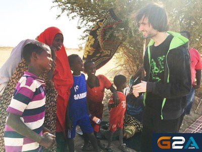 showing the world that the gaming community is all about helping others. See the movie of Athene asking for support.  https://www.youtube.com/watch?v=uVtDWjMTX-I (PRNewsFoto/G2A.com) (PRNewsFoto/G2A.com)