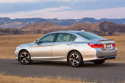 The all-new 2014 Honda Accord Plug-In Hybrid Sedan.  (PRNewsFoto/American Honda Motor Co., Inc.)