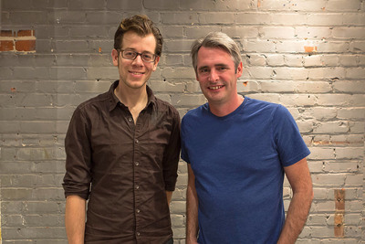 Flipboard Acquires Zite: Mike Klaas, Zite Co-founder, (left) and Mike McCue, Flipboard co-founder and CEO (right)