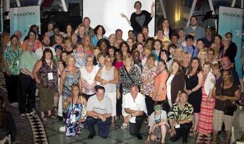 PANDORA Jewelry Enthusiasts Sail the Caribbean on a Fun Filled 7-day Cruise (PRNewsFoto/PANDORA Jewelry)