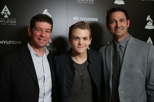 Hyundai Joins Forces With The GRAMMY(R)s For Second Year Of Amplifier Center Stage Program. (PRNewsFoto/Hyundai  ...