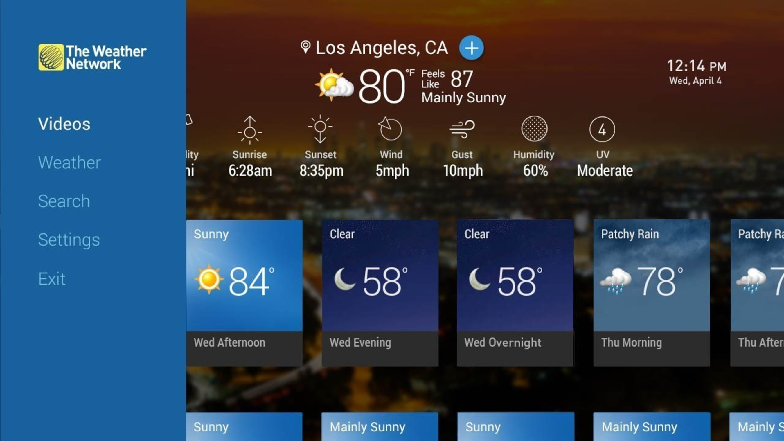 The Weather Network launches live weather channel on the