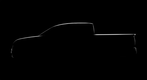 All-new Honda Ridgeline Pickup to Debut Within Two Years.  (PRNewsFoto/American Honda Motor Co., Inc.)