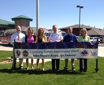 """Lightning Safety Awareness Week Kick-off Promotes """"Building Lightning Safe Communities"""" Campaign in Parker, CO"""