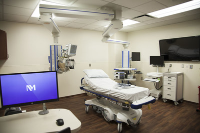 Clinic room inside state-of-the-art Lavin Family Pavilion