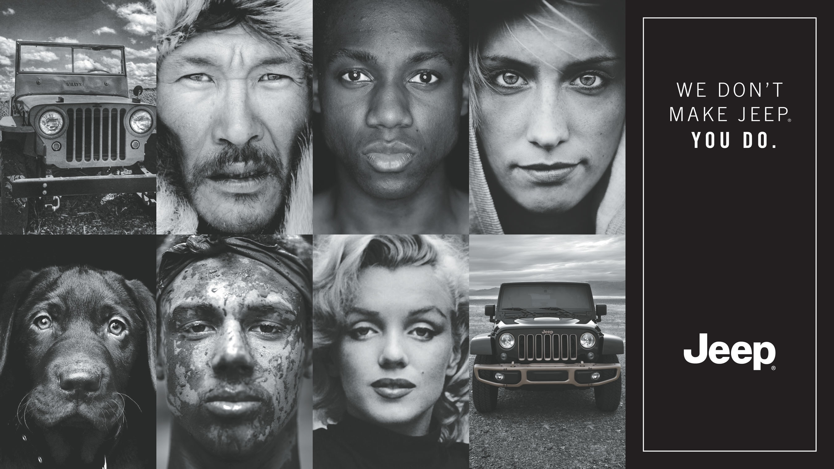 """Jeep brand celebrates 75 years with """"Portraits"""" debuting during the Super Bowl broadcast on Feb. 7"""