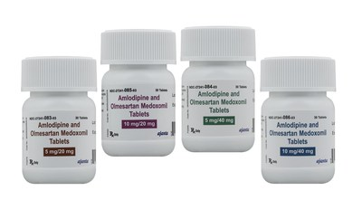 Ajanta Pharma Announces the Approval and Launch of Amlodipine + Olmesartan Medoxomil Tablets