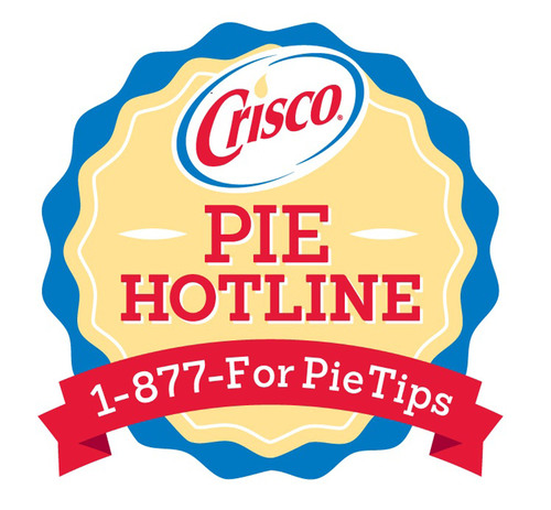 Keep Calm And Bake On! The Crisco® Pie Hotline Is Back With Extended Holiday Hours