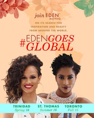 #EDENGoesGlobal