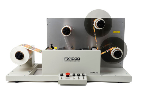 FX1000 Label Matrix Removal System from Primera Technology, Inc.  (PRNewsFoto/Primera Technology, Inc.)