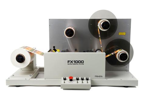 Primera Announces FX1000 Label Matrix Removal System