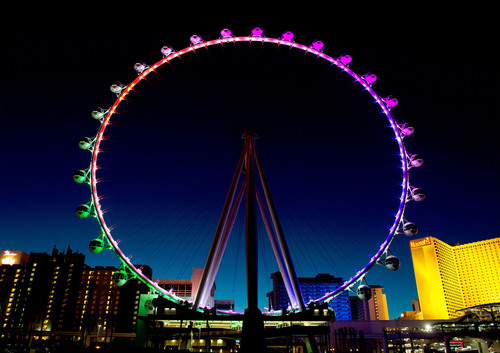 Tickets to the Las Vegas High Roller, The World's Tallest Observation Wheel, Now on Sale.  ...
