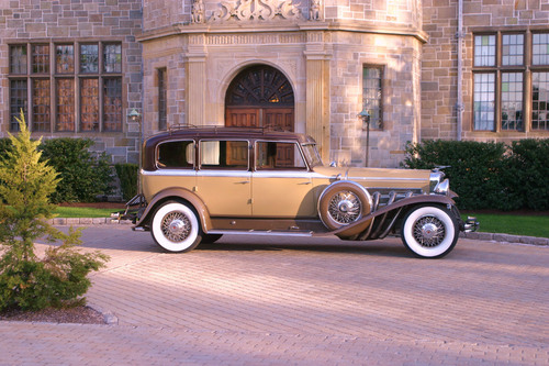 The Last Original Unrestored Supercharged Model J  Duesenberg Continental Touring Berline with Coachwork by Rollston to be sold on May 31st by Dragone Auctions in Westport, Connecticut; also included will be over 60 important investment quality historical vehicles never offered to the public for sale before!  (PRNewsFoto/Dragone Classic Motorcars)