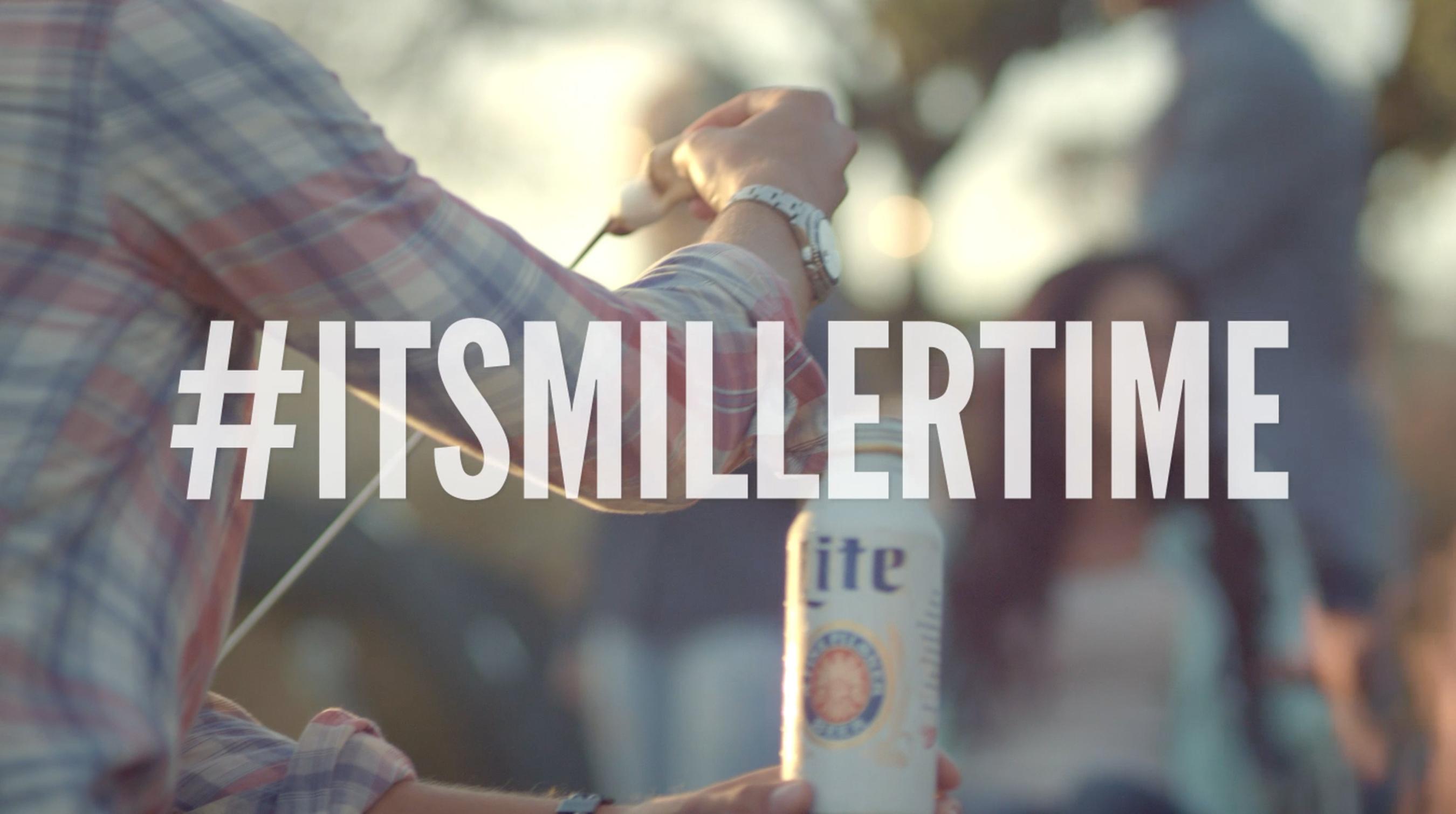 #ItsMillerTime. (PRNewsFoto/Miller Brewing Company)