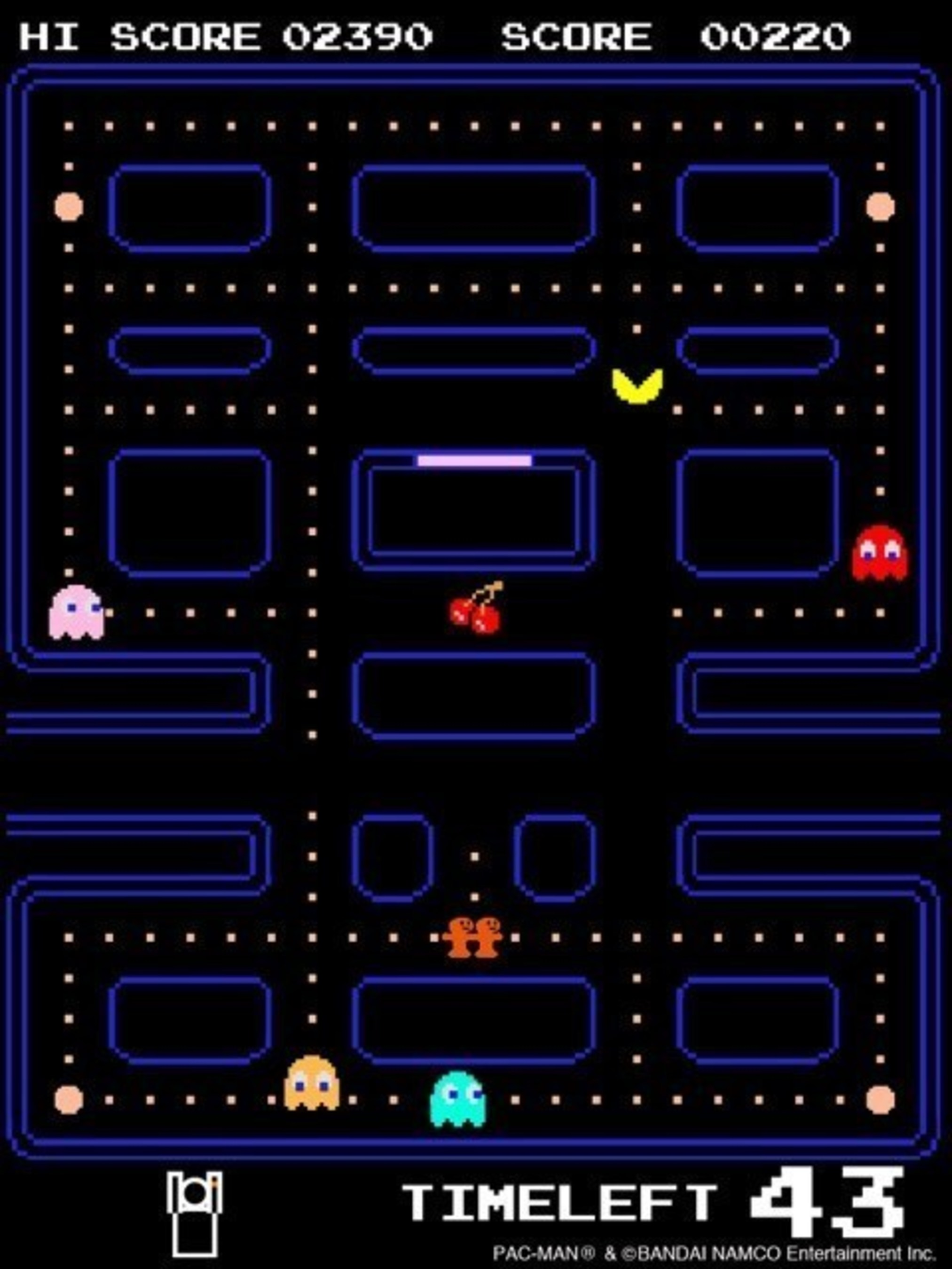 Preview Of The New 'PAC-MAN Powered By Moff' Gamified Fitness App Showcased at The 2016 International Consumer Electronics Show (CES) in Las Vegas, January 6 to 9