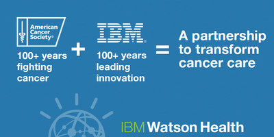 American Cancer Society and IBM Announce Collaboration to Create a Virtual Cancer Health Advisor