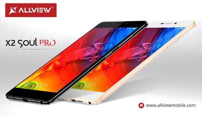 X2 Soul PRO, Allviewâeuro(TM)s new flagship (PRNewsFoto/Allview Mobile)