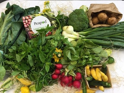 Peapod's Local Farm Box
