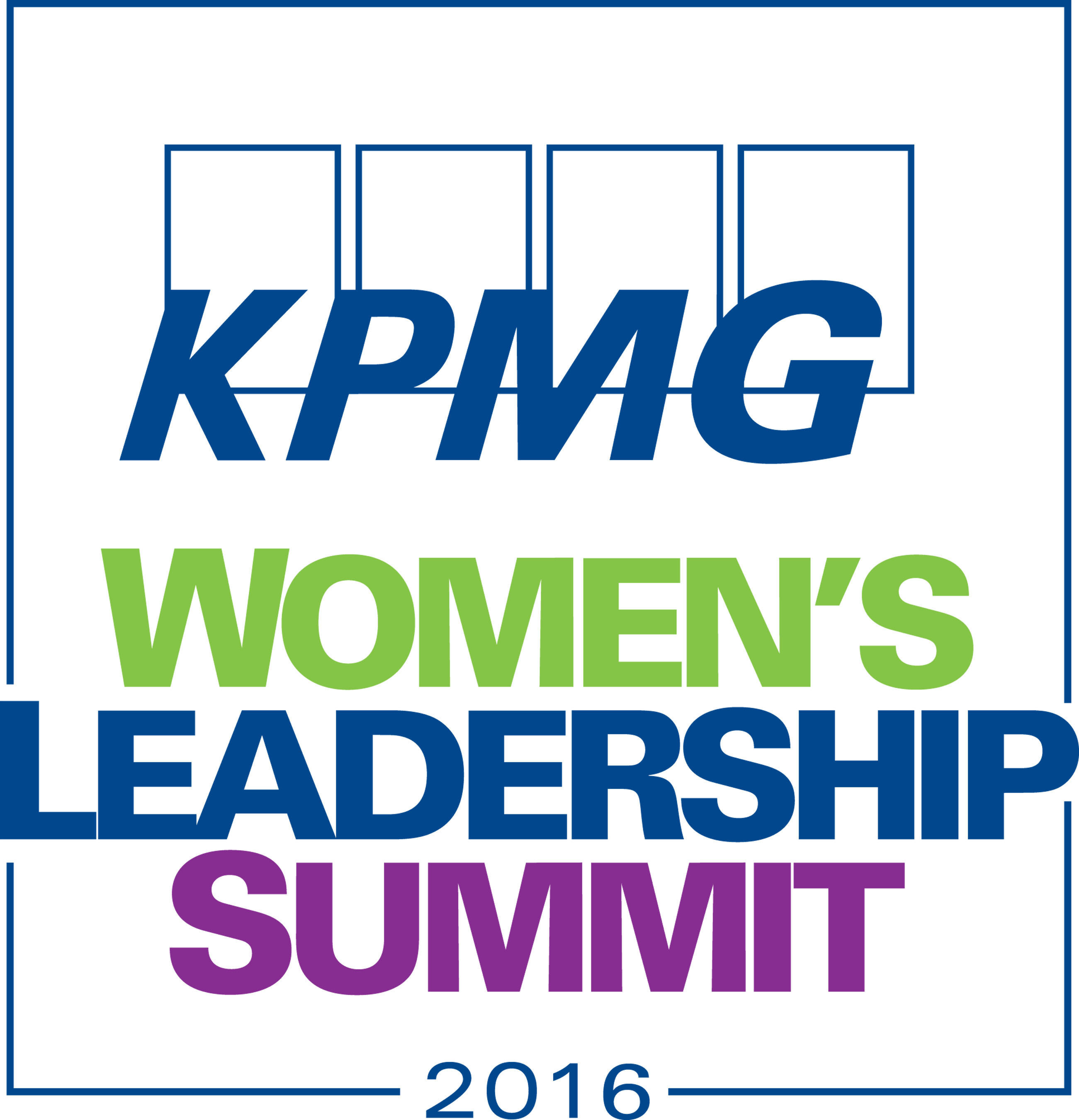 Condoleezza Rice And Annika Sorenstam To Keynote 2016 KPMG Women's Leadership Summit