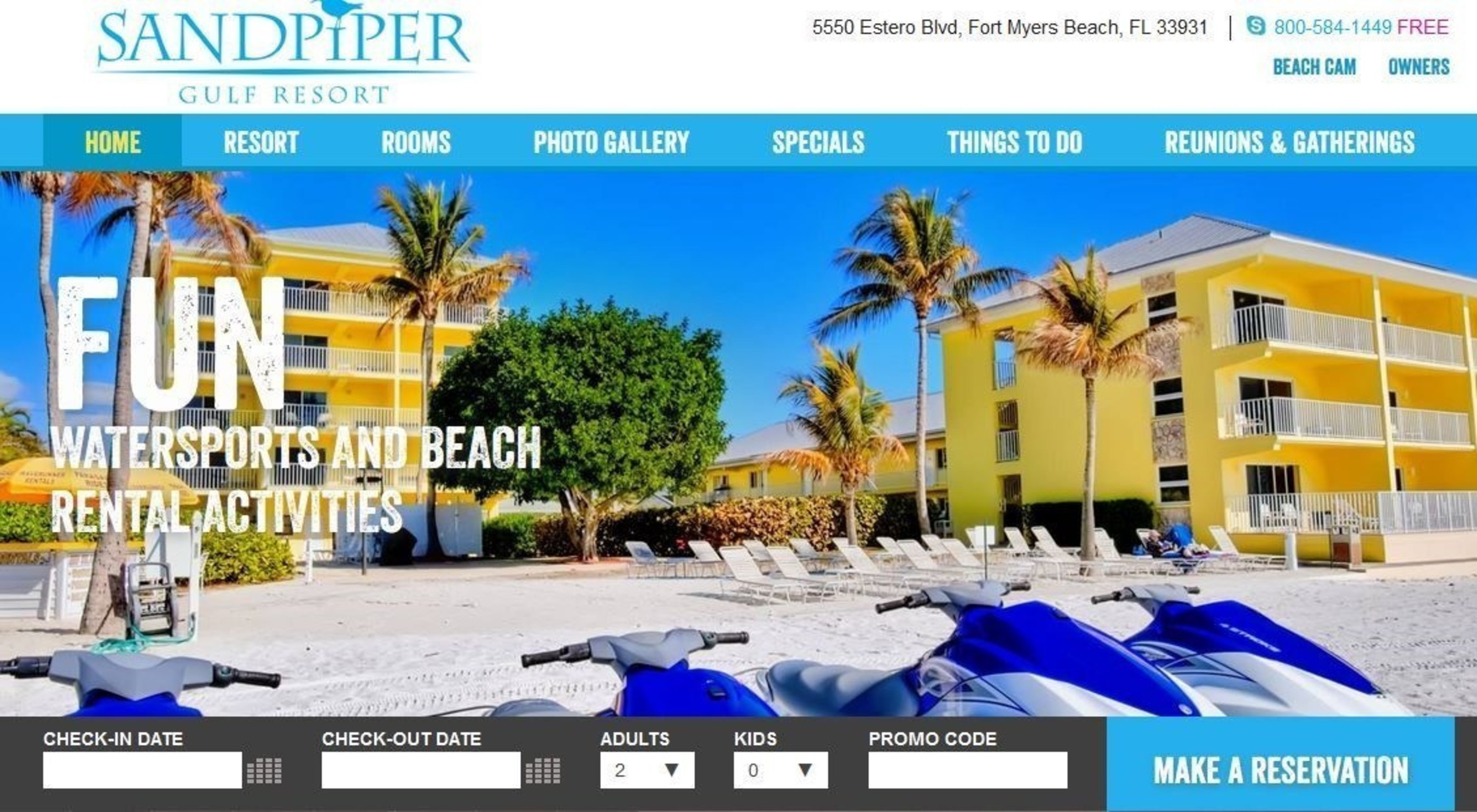Sandpiper Gulf Resort Brightens Online Booking Experience With New Mobile-Friendly Website