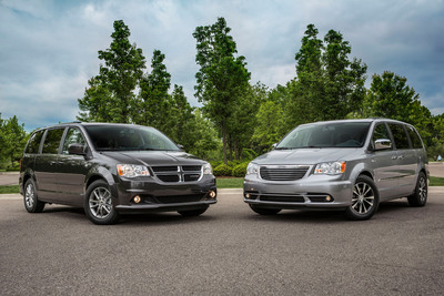 2014 Dodge Grand Caravan and Chrysler Town & Country 30th Anniversary Editions.  (PRNewsFoto/Chrysler Group LLC)