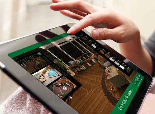 Trex Launches Deck Color Visualizer For iPad