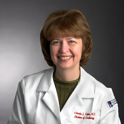 The Children's Hospital of Philadelphia is pleased to announce that Victoria L. Vetter, M.D., MPH, a pediatric cardiologist, was awarded the prestigious Edward S. Cooper M.D. Award  at the American Heart Association of Southeastern Pennsylvania's annual Heart Ball this weekend. Dr. Vetter is the first female and first pediatric cardiologist to receive this award.  (PRNewsFoto/The Children's Hospital of Philadelphia)