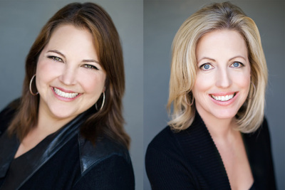 Rachelle Rosten and Kelly deLaat, Executive Directors of John Aaroe Group's Master Trust & Probate Division (PRNewsFoto/John Aaroe Group)