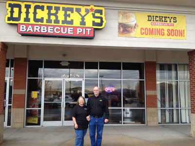 Dickey's Barbecue Pit brings slow smoked Texas barbecue to Johnson City, Tennessee.  (PRNewsFoto/Dickey's Barbecue)
