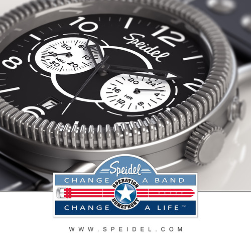 'Change A Band, Change A Life'- Speidel Launches Charitable Giving Program Dedicated to Military
