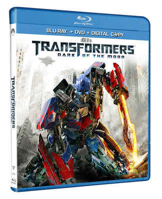FROM DIRECTOR MICHAEL BAY AND EXECUTIVE PRODUCER STEVEN SPIELBERG, PARAMOUNT PICTURES' $1 BILLION GLOBAL HIT  TRANSFORMERS: DARK OF THE MOON  BLASTS OFF ON BLU-RAY AND DVD FRIDAY, SEPTEMBER 30, 2011.  (PRNewsFoto/Paramount Home Entertainment)