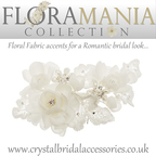 Crystal Bridal Accessories introduces the Floramania Bridal Headpiece Collection!